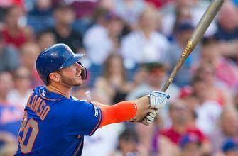 Pete Alonso mashes a three-run pinch-hit home run to extend the Mets lead to 8-1