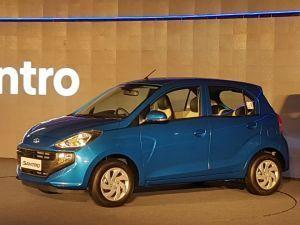 Hyundai Santro Launched Prices Start At Rs 389 Lakh