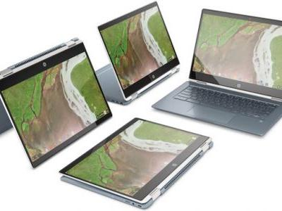 HP Launches Its Thinnest Chromebook Convertible