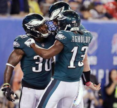 Eagles finally start looking like team that won NFL title
