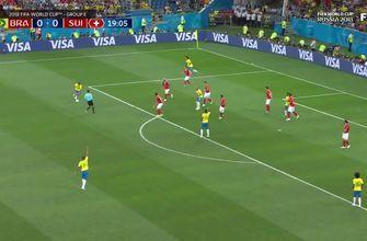 Watch Coutinho score the first goal for Brazil at the 2018 FIFA World Cup