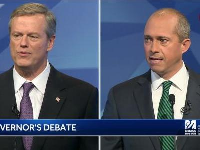 Charlie Baker, Jay Gonzalez asked how MBTA infrastructure can be fixed sooner