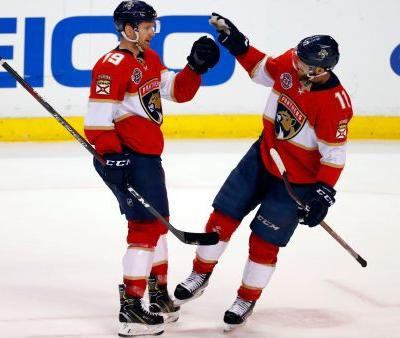 Barkov has team-record 5 assists, Panthers beat Wild 6-2