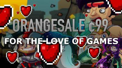 Orangepixel Spreading the Love Today with 99¢ Deals on 'Gunslugs', 'Heroes of Loot', and More