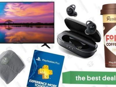 Tuesday's Best Deals: $280 TV, True Wireless Earbuds, TRTL Travel Pillow, and More