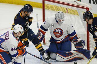 Eichel, Ullmark team up in Sabres' 3-1 win over Islanders