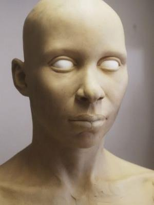 Hyper Realistic Reconstructed Bust 8 Changes and Adjustments