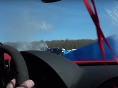 Watch A Bugatti Veyron Slam Into Barriers After A 208mph Run