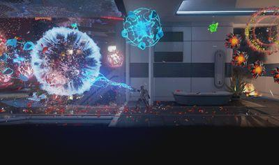 Watch Eight Minutes of Matterfall Gameplay