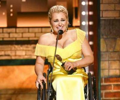 Ali Stroker becomes 1st person in a wheelchair to win a Tony Award