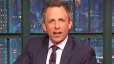 Seth Meyers Uses Cute Dog To Make Serious Point About Trump's 'Rotted-Out Soul'
