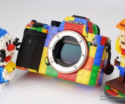 You Can Now Skin Your Sony Mirrorless Camera to Look Like LEGO