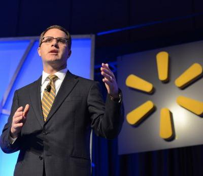 Walmart says its 'monitoring the tariff discussions,' posts mixed results