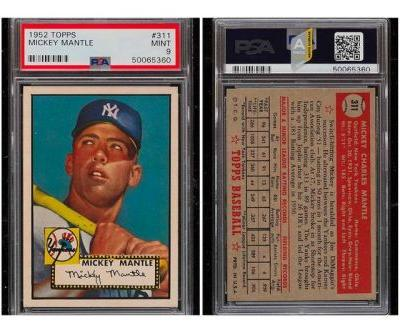 A 1952 Mickey Mantle Card Has Just Sold for $5.2 Million USD