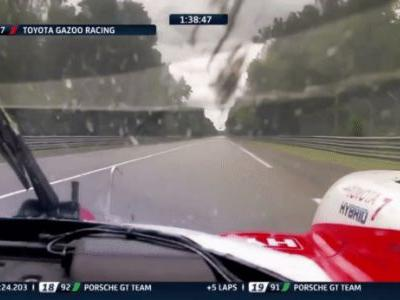 Second Place Toyota Slows Suddenly At Le Mans But They Just Missed A Fuel Stop