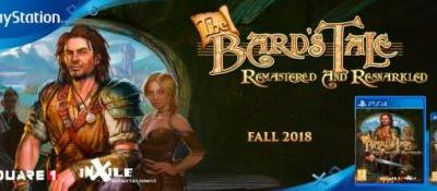 The Bard's Tale: Remastered and Resnarkled PS4 & Vita Physical Releases Announced