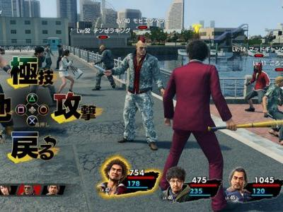 Yakuza 7 Has Final Fantasy-Like Summons and They Are Hilarious