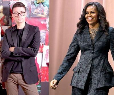 'Project Runway' mentor Christian Siriano dishes on Michelle Obama's style