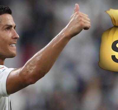 Ronaldo's €31m wage means he earns three times more than anyone else in Serie A - report