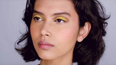 How to Wear Yellow Eye Shadow, In Case You Were Wondering