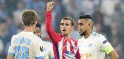 Griezmann double dashes Marseille's Europa League dream