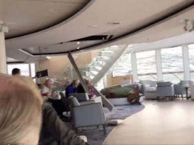 SEE IT: Scary Footage from Viking Sky Cruise Ship Emerges, Passenger Evacuation Underway