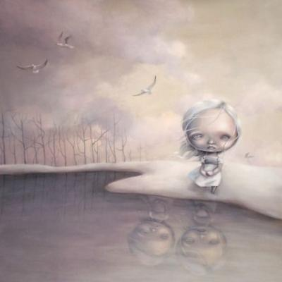 Surreal paintings from Anne AngelshaugAnne Angelshaug is an