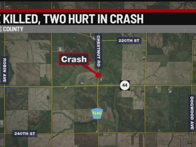Coon Rapids Woman Killed, Waukee Residents Injured in Crash