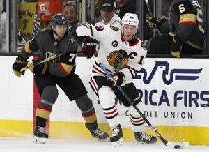 Marchessault, Tuch lift Golden Knights over Blackhawks 4-3