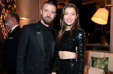 Justin Timberlake Shares Sweet Photo of Jessica Biel Getting a Kiss From Son Silas in Paris