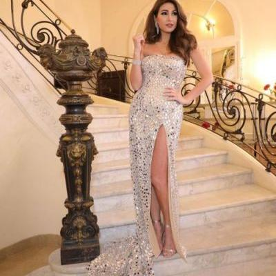 Breathtaking Dima Sadek looked royal in a Haute Couture SS19