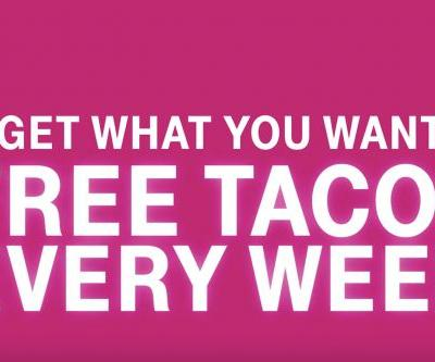 T-Mobile's Super Bowl ad announces free Taco Bell every week for customers