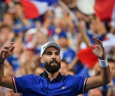 Paire Davis Cup gamble pays off for France, Croatia lead USA