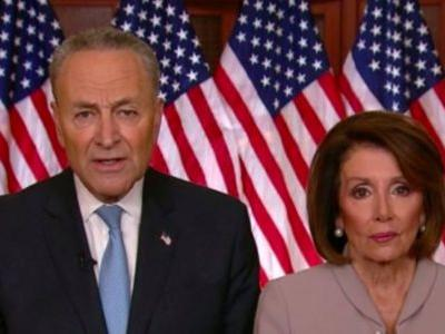 Twitter Mocks Schumer, Pelosi's Awkward Trump Response: 'When Mom and Dad Are Disappointed'