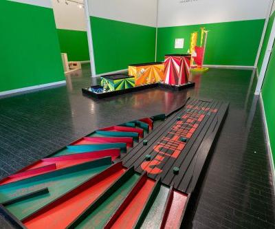 Take a Swing Around 'Par Excellence Redux,' a Mini Golf Course of Playable Artworks at Elmhurst Art Museum