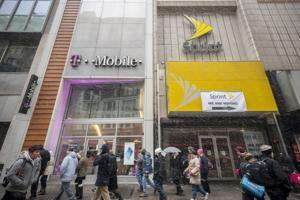 Sprint, T-Mobile merger would cut employee pay, even at Verizon and AT&T, study says