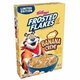 Kellogg's Is Introducing Banana Creme Frosted Flakes, and, Wow, My Body Is Ready