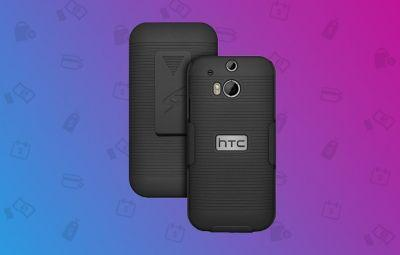 Protect your HTC One M8 with this case and holster combo for $4.87