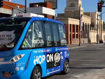 I tried the first self-driving public transit in the United States - and now I'm excited for the future of travel