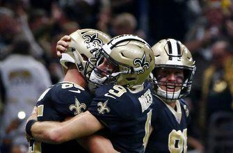 Saints win 10th straight, eliminate Falcons in NFC South