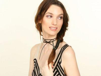 Your Fishtail Braid Deserves This Rad Leather Hair Tie