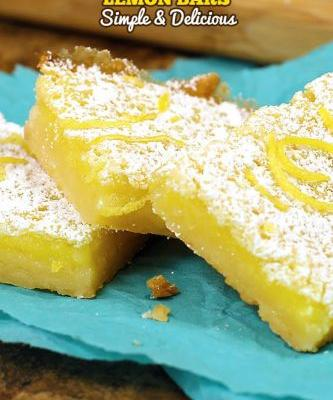 Best Ever Easy Lemon Bars