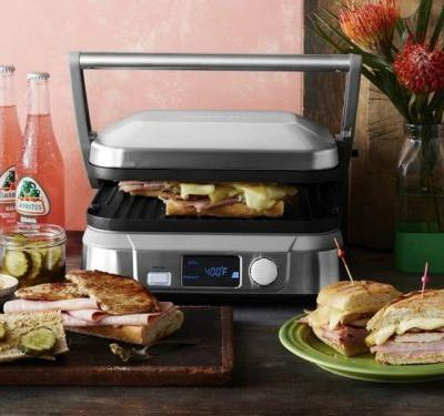 I prefer not to clutter my kitchen with extra appliances, but Cuisinart's new $80 hybrid grill is an exception to my rule
