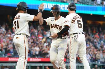 Giants hand D'Backs record-tying 22nd straight road loss in 13-7 thumping
