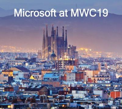 Microsoft MWC19 presentation from Barcelona