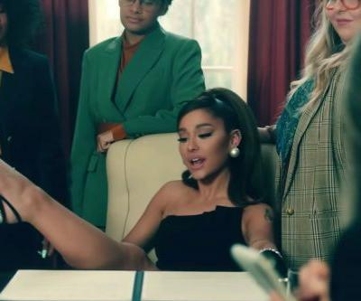 Ariana Grande flaunts 'Positions' in sexy White House video