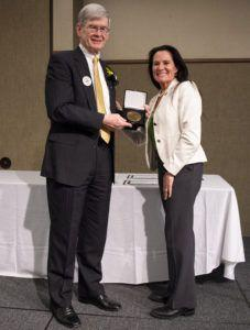 Department Head Honored by Alma Mater for Exceptional Efforts