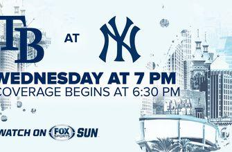 Preview: Rays look to bounce back, take control of series against Yankees