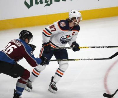 Edmonton Oilers' winning streak reaches four games after victory over Colorado Avalanche