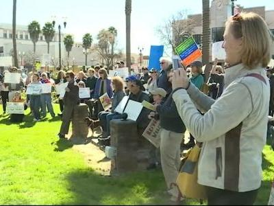 President Trump's emergency declaration protested in Watsonville